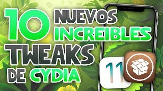 TOP 10 CYDIA TWEAKS iOS 11 • 11.1.2