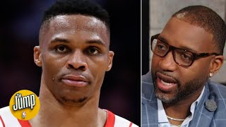 If Russell Westbrook gets his midrange going, Rockets could be unstoppable -Tracy McGrady | The Jump