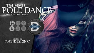 The sims 4 - MMD dance : Pole dance *DOWNLOAD*