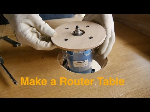Router table production,