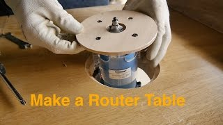Router table production, cause of failure トリマーの仕込み!失敗編!??