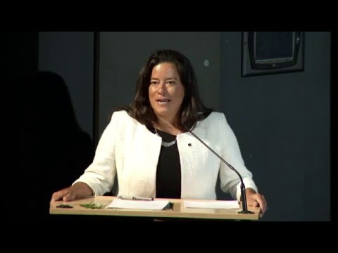 School for Public Policy: public lecture by federal Justice Minister Jody Wilson-Raybould