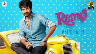 Remo Senjitaley Lyric Video  Sivakarthikeyan, Keerthi Suresh  Anirudh Ravichander