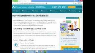 Mesothelioma Survival Rates   Mesotheliomaguide 888 572 9011