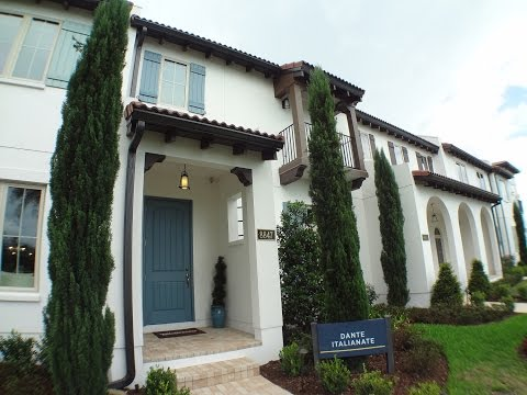 Winter Garden New Luxury Townhomes - Lakeshore by Toll Brothers - Dante Model