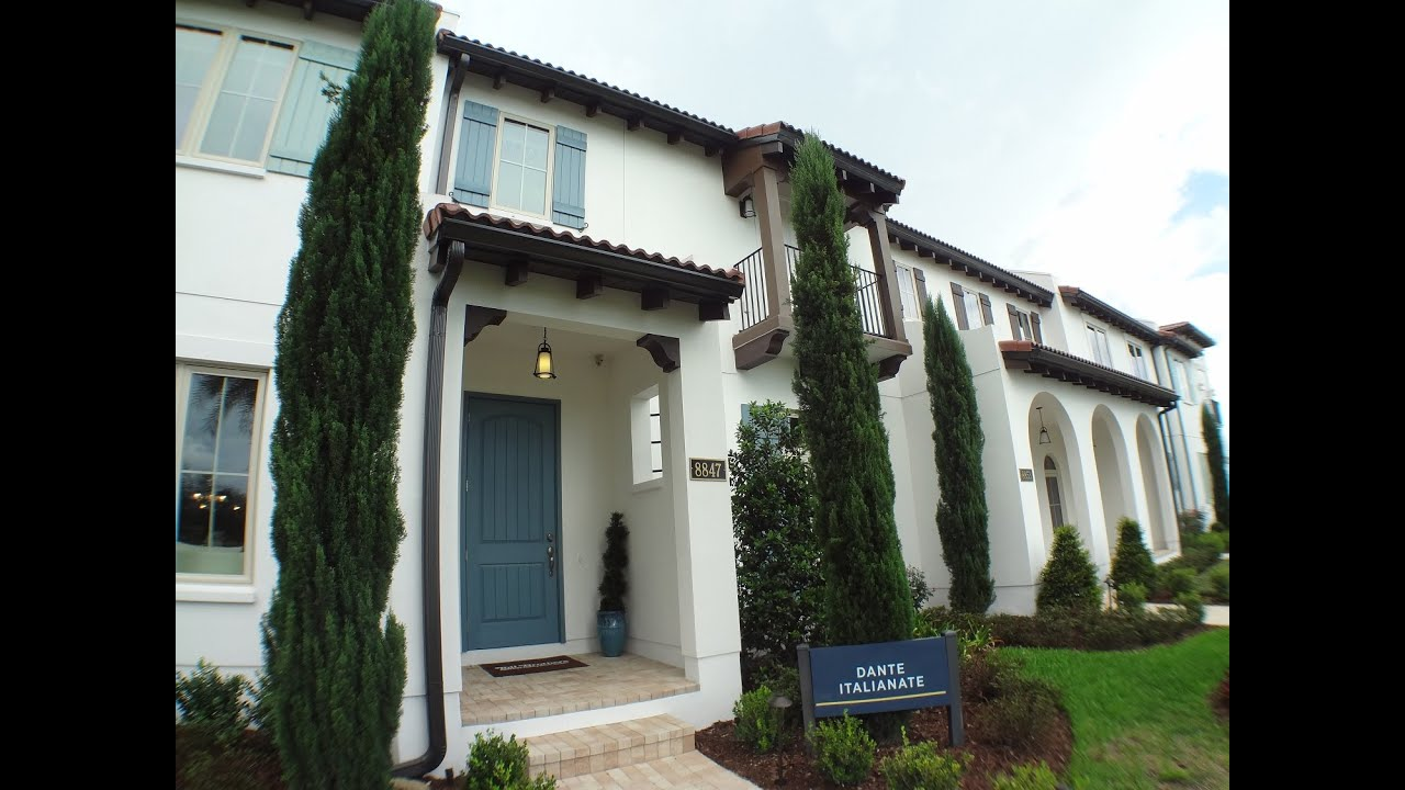winter garden new luxury townhomes lakeshore by toll brothers
