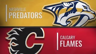 Nashville Predators vs Calgary Flames | Dec.08, 2018 NHL | Game Highlights | Обзор матча