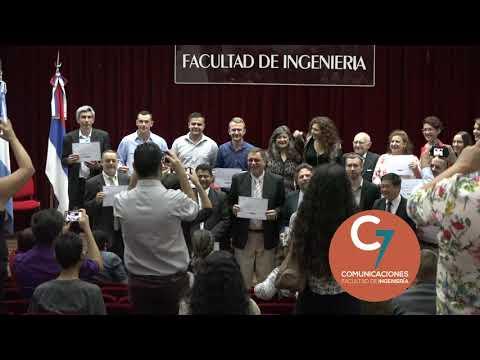 Entrega de la certificación de la Diplomatura en Ergonomía
