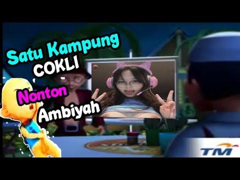 Meme Upin Ipin Terbaru 2020  ||  Satu Kampung COKLI Nonton Ambiyah...