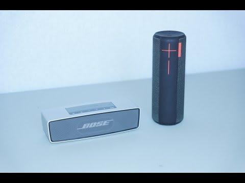 Bose SoundLink Mini vs UE Boom