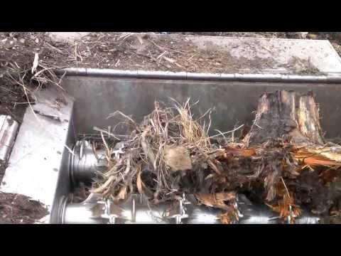 Komptech Crambo broyeur souche best root stump shredder