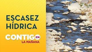 ¿Hasta cuándo queda agua en Chile? - Contigo en La Mañana