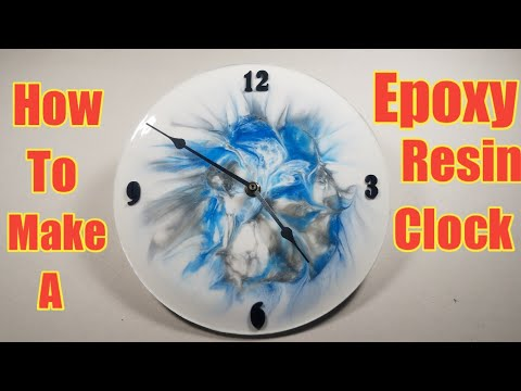 How to make an Epoxy Resin Clock/tutorial
