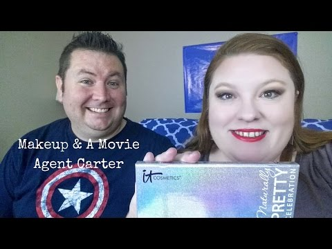 Makeup and a Movie:  Agent Carter | It Cosmetics Naturally Pretty Palette