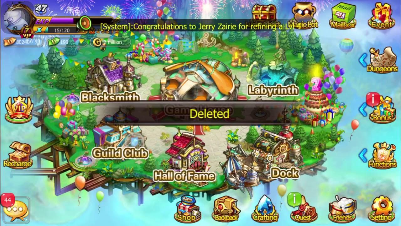 MMOG DDTANK (Mobile) Spam MAGIC POT