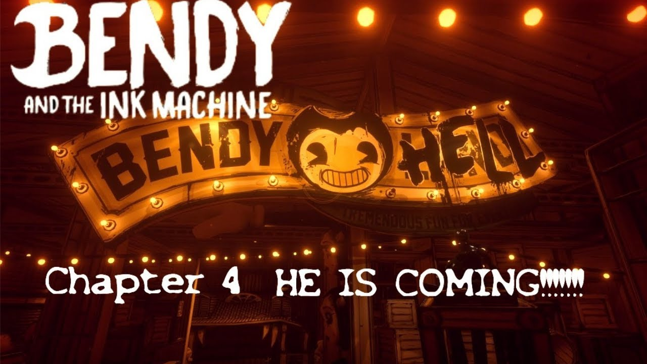 Bendy and the ink machine - chapter 4 part 2 Bendy HELL!