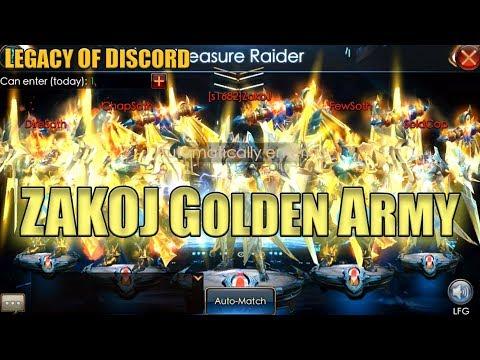 Legacy of Discord: Enhance Mechanize & Raid for Treasure