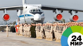 На крыльях победы: Путин посетил авиабазу Хмеймим в Сирии - МИР 24