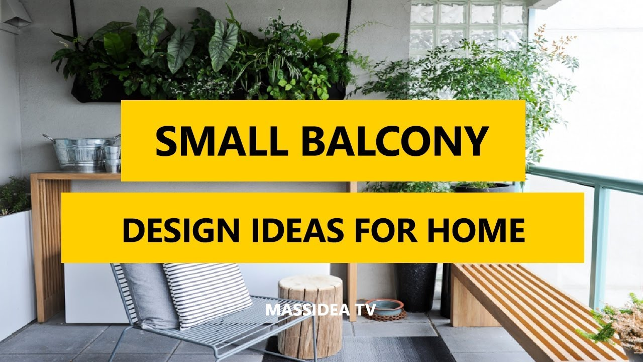 45+ Awesome Small Balcony Design Ideas for Home 2017 - YouTube