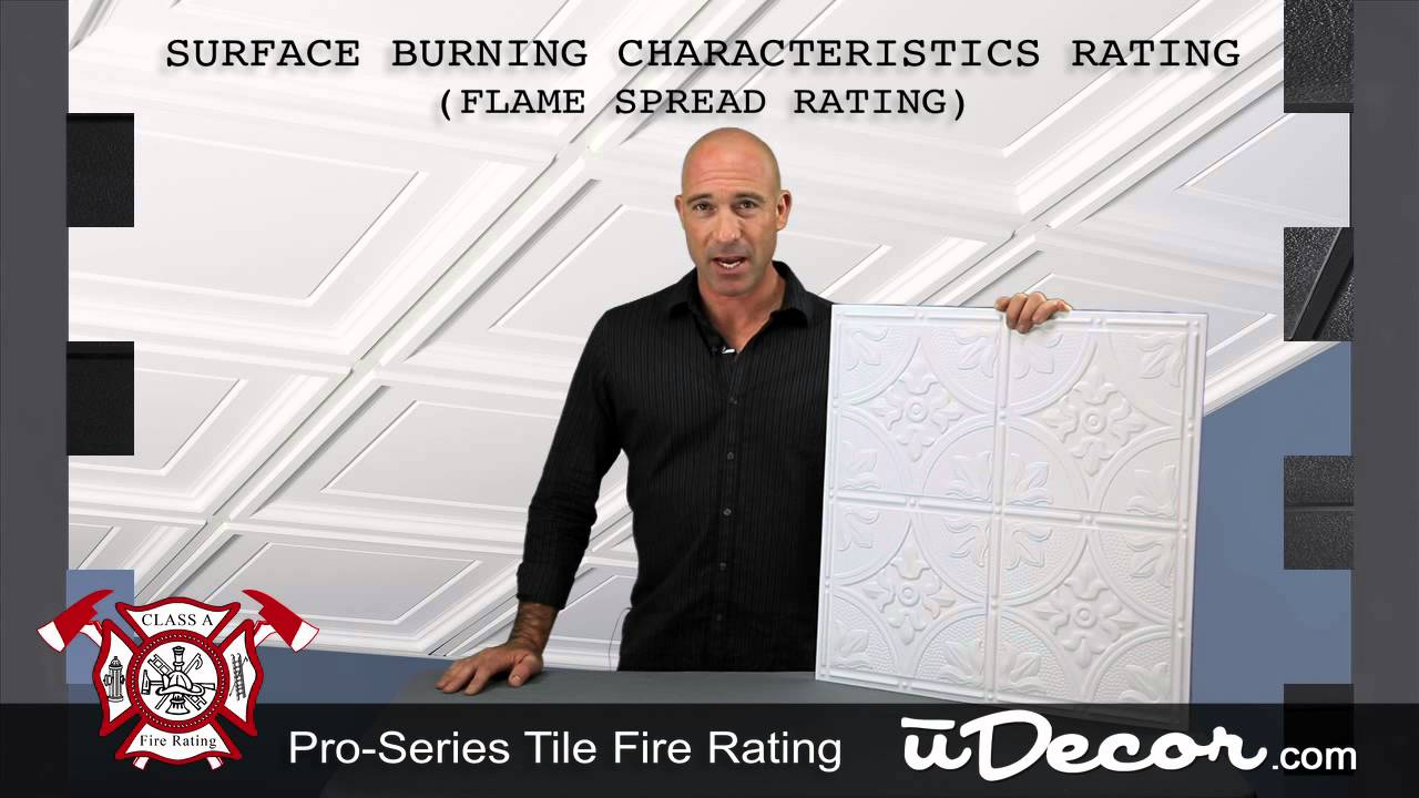 What Does Having A Class A Fire Rating Mean Youtube