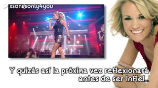 Before He Cheats - Carrie Underwood (Traducida al Español) Live