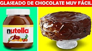 22 LOCAS IDEAS DE POSTRES DE CHOCOLATE