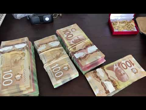 $50 000 Dollars Cash In Canadian Currency