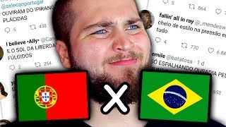 PORTUGAL X BRASIL - A GUERRA MEMEAL VOLTOU