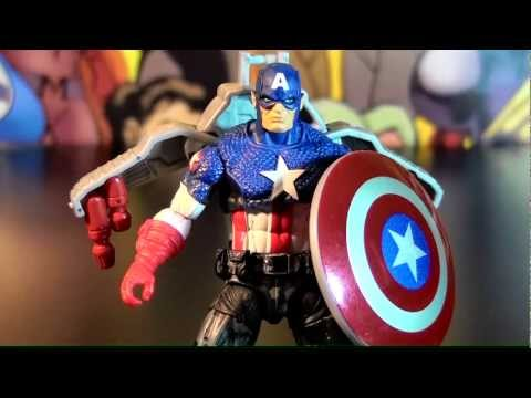 R121 Hasbro Captain America First Avenger Movie Concept Series Night Mission Action Figure Review Travel Video