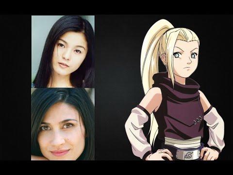 Anime Voice Comparison Ino Yamanaka Naruto