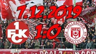 1. FC Kaiserslautern 1:0 Hallescher FC – 7.12.2019 – DER FCK IST WIEDER DA!