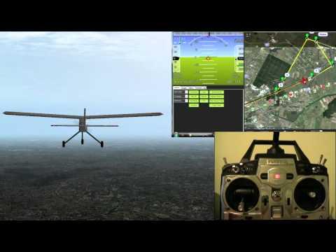 Arduplane Simulation by  Szekely Stefan on YouTube