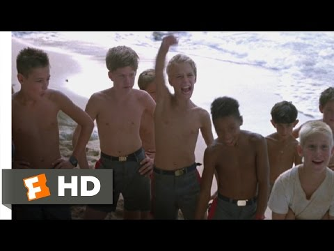 Lord of the Flies (4/11) Movie CLIP - First Signs of Trouble (1990) HD