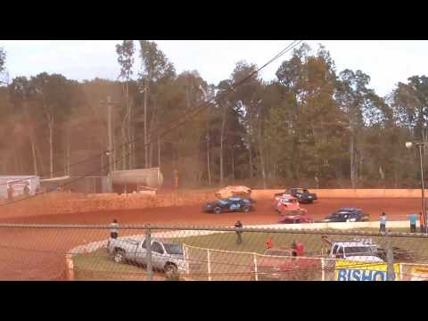 scary Flip (east Lincoln speedway)