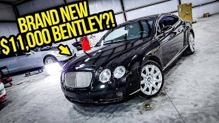 Here's How I Made My Dirty $11,000 Bentley Look BRAND NEW!!! thumbnail