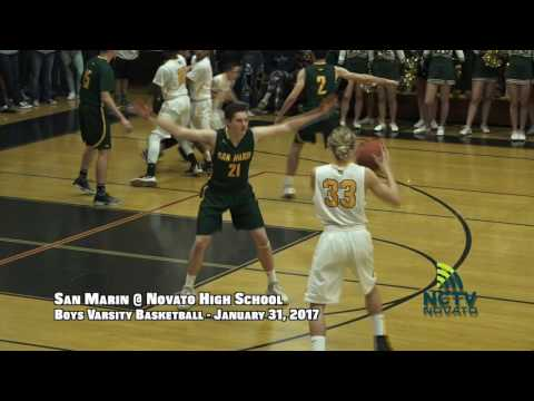 GotW | SMHS @ NHS | Boys Varsity Basketball ( 1-31-2017 )