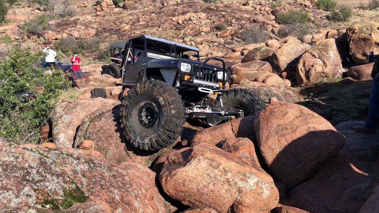 Wolf Caves Offroad Mason Texas Jeep YJ on 47's Gulf Coast ...