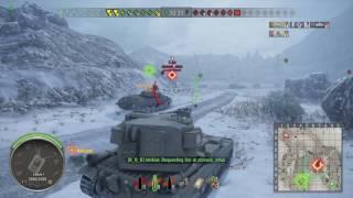 World of Tanks PS4 FV215b 183 Ace Tanker!