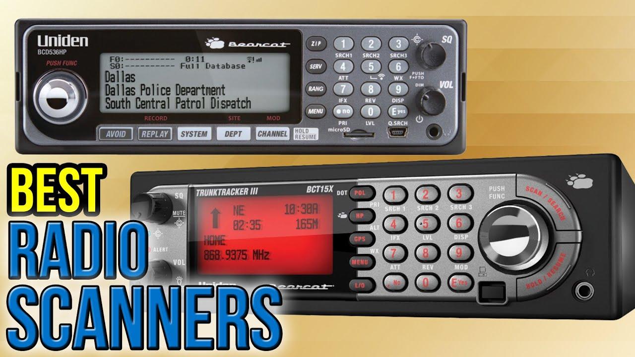 9 Best Radio Scanners 2017
