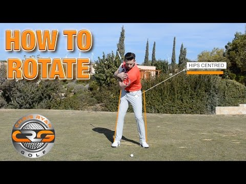 HOW TO ROTATE IN THE GOLF SWING