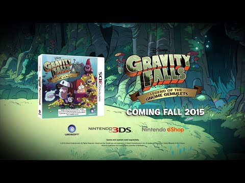 Gravity Falls - Legend of the Gnome Gemulets - 3DS Game Trailer