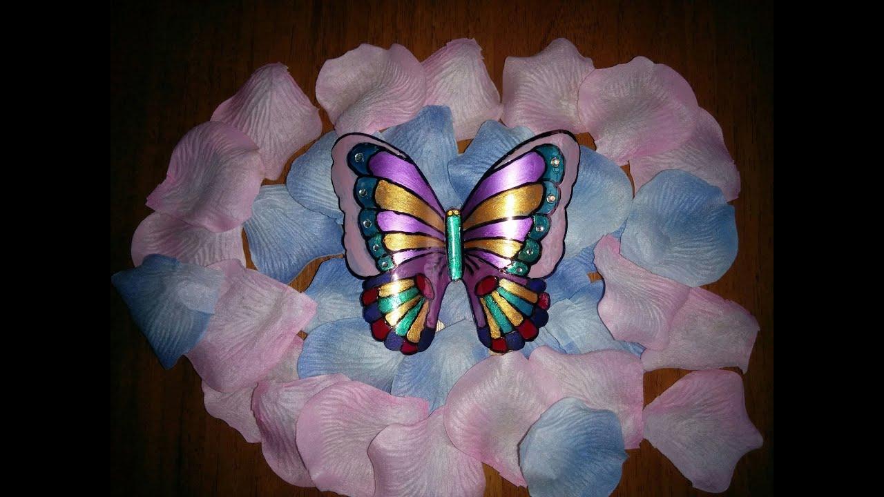 Как сделать бабочек своими руками из пластиковых бутылок своими руками фото 441