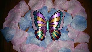 Бабочка из пластиковой бутылки / Butterfly out of a plastic bottle / Поделки из бутылки