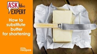 How To Substitute Butter for Shortening | Ask the Expert