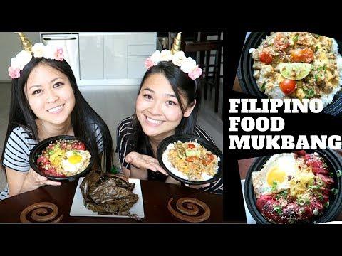 Yummy Filipino Food Mukbang - Comfort Food Rice Bowls at its Best !!