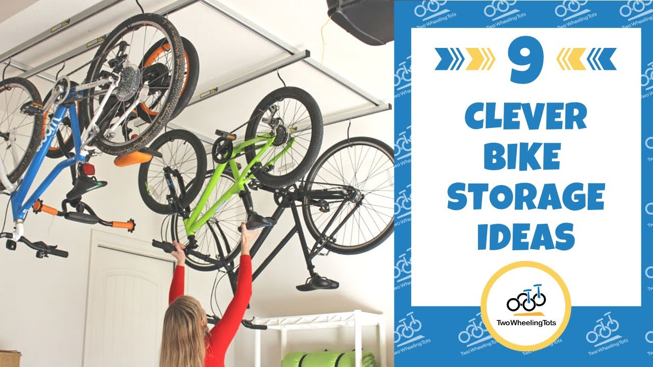 15 practical bike storage ideas for garage and indoors video demo