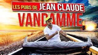 Les pubs de Jean Claude Van Damme