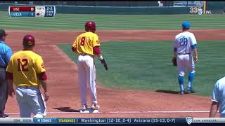 Baseball: USC 3, UCLA 7 - Highlights 4/22/18
