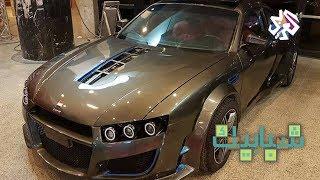 شبابيك│شاب مصري يصمم سيارة رياضية بمواصفات عالمية باستخدام العربات المتهالكة