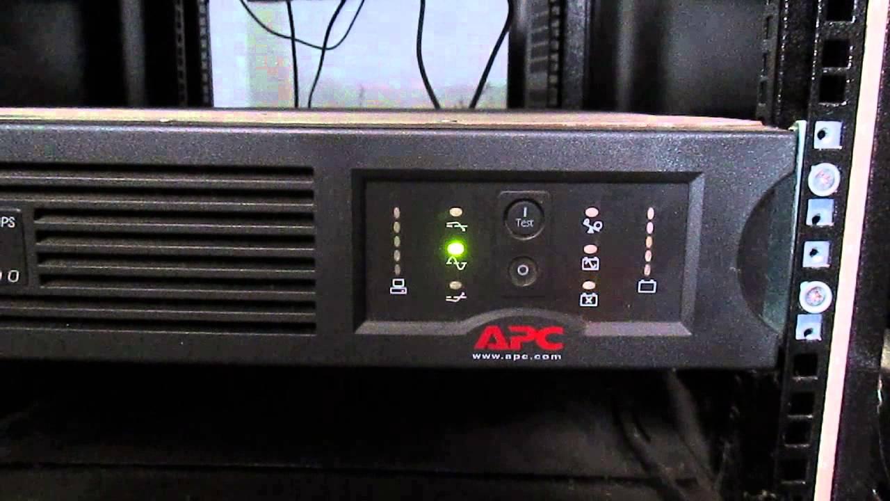 APC Smart-UPS 2200 Error Battery